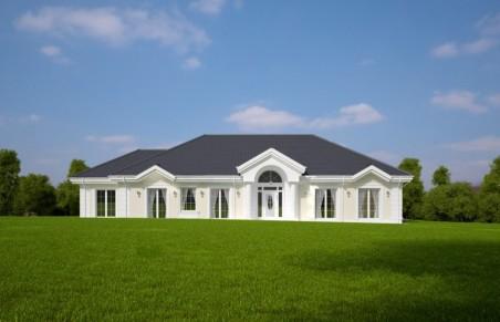 SIELANKA 30 st. wersja B dach 4-spadowy bez garażu