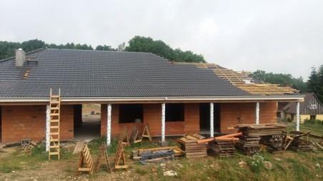 ALEX wersja A bez garażu strop drewniany