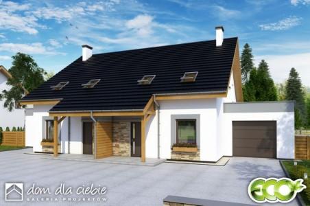 Nasz dom - wariant II (podpiwniczony)