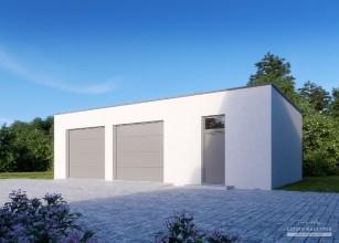 LK&G62 projekt garażu...