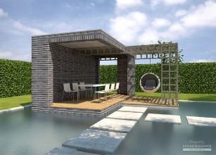 LK&A4 projekt altany ogrodowej