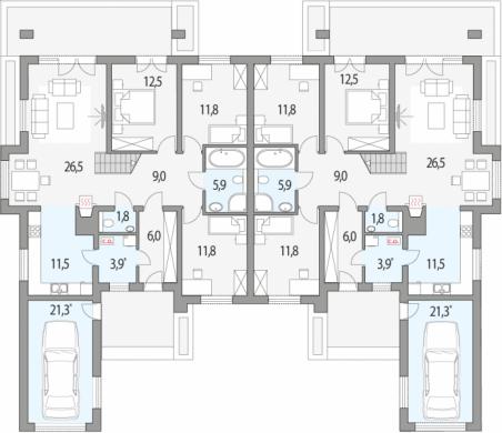 Dom w hiacyntowcach (G2) ver.2