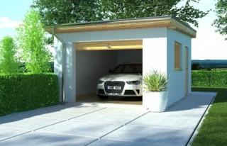 garaż APG-8 - budynek...