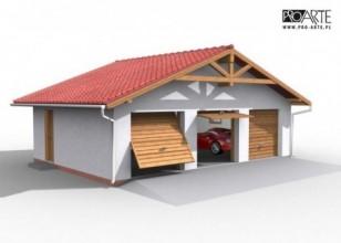 G5 garaż trzystanowiskowy