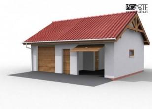G11 garaż dwustanowiskowy