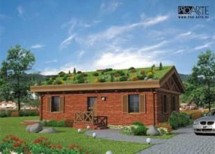 EL PINAR dom z zielonym dachem
