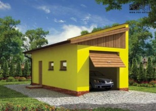 G205 garaż jednostanowiskowy