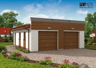G1a2 garaż dwustanowiskowy...