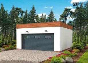 G309 garaż dwustanowiskowy