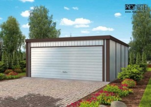 GB17 projekt garażu...