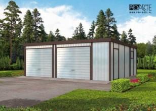 GB21 projekt garażu...