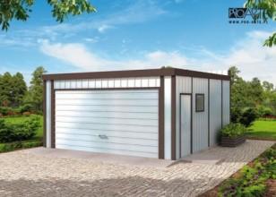 GB25 projekt garażu...