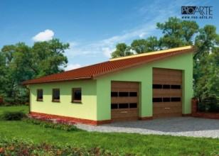 G220 budynek gospodarczy